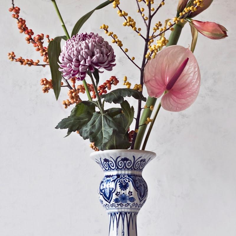 Baluster Vase By Royal Delft Ninaber Van Eyben
